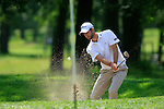 Seve Benson (ENG) chips out of a bunker at the 4th green during Day 3 of the BMW Italian Open at Royal Park I Roveri, Turin, Italy, 11th June 2011 (Photo Eoin Clarke/Golffile 2011)