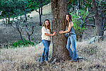 Christina and Rachel, Santa Margarita, California