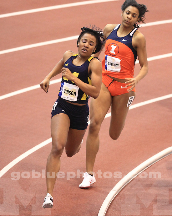February 27th, 2010 Women's Big Ten Indoor Track & Field Championships held at Penn State University.