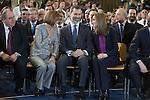 Spanish Royals King Felipe VI of Spain and Queen Letizia of Spain visit  the Paraplegic Hospital in Toledo, Spain. February 10, 2015. (ALTERPHOTOS/Victor Blanco)