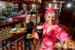 Orlagh Winters (on right) and Rachel Lynch getting ready to reopen Benners in Castle street Tralee on Monday June 29th.
