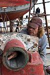 Port Townsend, Boat Haven, boatyard, Port Townsend Shipwrights Co-op, Dean Bozat, fishing vessel, Saturn, Jefferson County, Olympic Peninsula, Puget Sound, Washington State, Pacific Northwest, USA, Shipwrights Portraits,