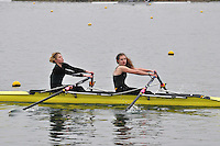 086 AbingdonRC W.J18A.2x..Marlow Regatta Committee Thames Valley Trial Head. 1900m at Dorney Lake/Eton College Rowing Centre, Dorney, Buckinghamshire. Sunday 29 January 2012. Run over three divisions.