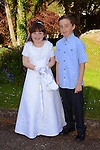 23/05/2015 – Termonfeckin Communion – Katie Cleary and her brother Cian.