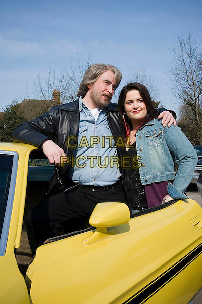 STEVE COOGAN & RUTH JONES.in Saxondale .**Editorial Use Only**.CAP/FB.Supplied by Capital Pictures