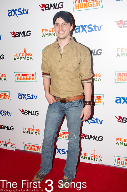 Greg Bates arrives at the ACM Experience Outnumber Hunger event at The Orleans Arena in Las Vegas, Nevada.