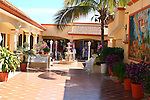 COLORFUL OUTDOOR SHOPPING AREA IN BAJA