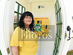 Sandra Tully pictured with The new Defibrillator outside her home at Shallon, near Julianstown, County Meath. Photo:Colin Bell/pressphotos.ie