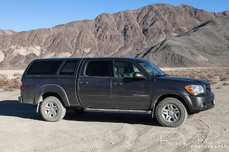 2006 Toyota Tundra at Racetrack Playa in Death Valley National Park