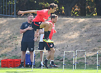 Lucas Torro (Eintracht Frankfurt), Nikolai M&uuml;ller (Eintracht Frankfurt) - 21.08.2018: Eintracht Frankfurt Training, Commerzbank Arena, DISCLAIMER: <br /> DFL regulations prohibit any use of photographs as image sequences and/or quasi-video.