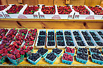 Fresh picked berries at Avila Valley Barn, farm stand and petting zoo in Avila Valley, San Luis Obispo County, California