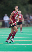 STANFORD, CA - November3, 2011: Kasey Quon during the Stanford vs. Appalachian State opener of  the  NorPac Championship at the Varsity Turf on the Stanford campus Thursday afternoon.<br /> <br /> Stanford defeated Appalachian State 7-0.