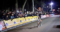 victory for Wout Van Aert (BEL/Vastgoedservice-Golden Palace)<br /> <br /> Zilvermeercross 2014