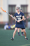 Santa Barbara, CA 02/18/12 - Danielle DeWaal (BYU #28) in action during the Arizona State vs BYU matchup at the 2012 Santa Barbara Shootout.  BYU defeated Arizona State 10-8.