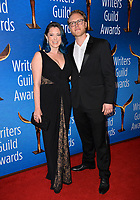 LOS ANGELES, CA. February 17, 2019: Rachel Bloom & Jack Dolgen at the 2019 Writers Guild Awards at the Beverly Hilton Hotel.<br /> Picture: Paul Smith/Featureflash