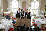 Fitzers Catering who have just won a 3 year contract to provide catering for Slane Castle.  Lord Henry Mount Charles and Sharon Fitzpatrick at Slane Castle..Picture Fran Caffrey www.newsfile.ie