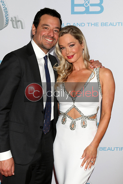 "Bobby Ghassemieh, Jennifer Gareis<br /> at the ""The Bold and The Beautiful"" 30th Anniversary Party, Clifton's Downtown, Los Angeles, CA 03-18-17<br /> David Edwards/DailyCeleb.com 818-249-4998"