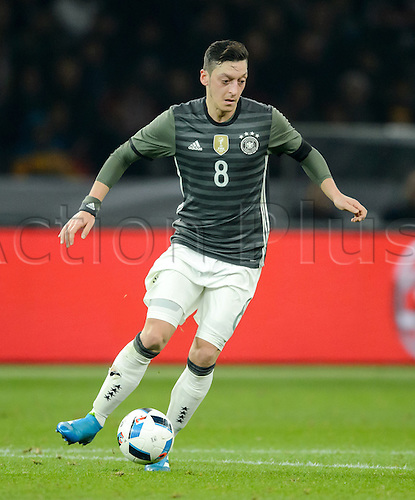 26.03.2016. Olympiastadion Berlin, Berlin, Germany.  Germany's Mesut Oezil in action during the international friendly soccer match between Germany and England at the Olympiastadion