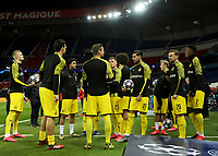 Soccer Football - Champions League - Round of 16 Second Leg - Paris St Germain v Borussia Dortmund - Parc des Princes, Paris, France - March 11, 2020  Borussia Dortmund's Emre Can with teammates during the warm up before the match   <br /> Photo Pool/Panoramic/Insidefoto