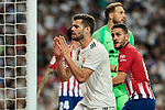 Real Madrid's Nacho Fernandez during La Liga match between Real Madrid and Atletico de Madrid at Santiago Bernabeu Stadium in Madrid, Spain. September 29, 2018. (ALTERPHOTOS/A. Perez Meca)