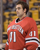 Adam Geragosian - The Boston College Eagles defeated the Northeastern University Huskies 5-2 in the opening game of the 2006 Beanpot at TD Banknorth Garden in Boston, MA, on February 6, 2006.