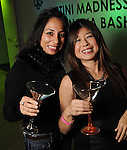 Fatema Khan and Rose Chen at Martini Madness at the Center for Contemporary Craft Thursday Jan. 22,2015.(Dave Rossman For the Chronicle)