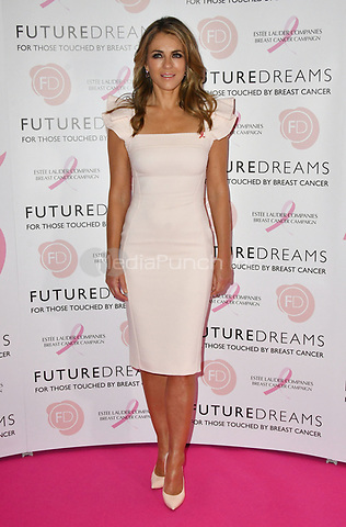 Elizabeth Hurley<br /> Future Dreams Ladies Lunch, United for Her, Breast cancer charity's annual lunch to raise funds for further research and new treatments. Held at The Savoy Hotel, London, England on October 09, 2017.<br /> CAP/JOR<br /> &copy;JOR/Capital Pictures /MediaPunch ***NORTH AND SOUTH AMERICAS ONLY***