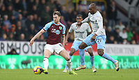 West Ham United's Angelo Ogbonna and Burnley's Ashley Barnes<br /> <br /> Photographer Rob Newell/CameraSport<br /> <br /> The Premier League - Burnley v West Ham United - Sunday 30th December 2018 - Turf Moor - Burnley<br /> <br /> World Copyright © 2018 CameraSport. All rights reserved. 43 Linden Ave. Countesthorpe. Leicester. England. LE8 5PG - Tel: +44 (0) 116 277 4147 - admin@camerasport.com - www.camerasport.com