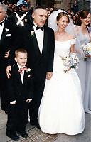 1996 <br /> Dennis Hopper,Victoria Duffy son Henry <br /> Photo to By John Barrett-PHOTOlink.net/MediaPunch