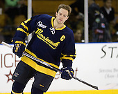 Chris Barton (Merrimack - 23) - The Merrimack College Warriors defeated the visiting Sweden Under 20 team 4-1 on Tuesday, November 2, 2010, at Lawler Arena in North Andover, Massachusetts.
