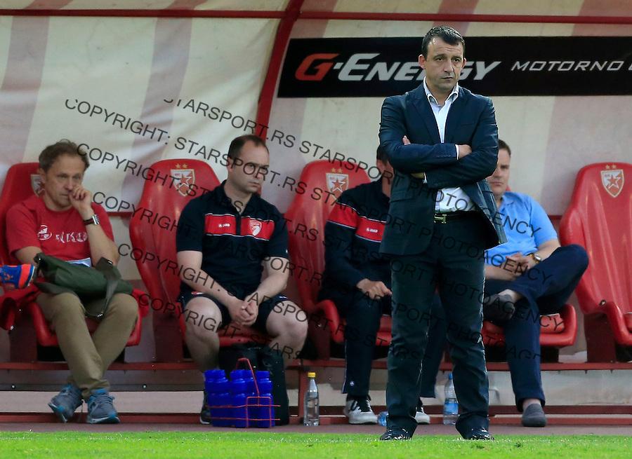 Fudbal Jelen Super League season 2014-2015<br /> Crvena Zvezda v Radnicki (Kragujevac)<br /> Head coach Nesko Milovanovic<br /> Beograd, 13.05.2015.<br /> foto: Srdjan Stevanovic/Starsportphoto&copy;