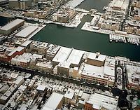 Februari 1999. Willemdok in Antwerpen.