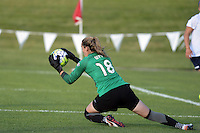 Kansas City, MO - Saturday July 16, 2016: Kelsey Wys during a regular season National Women's Soccer League (NWSL) match at Swope Soccer Village.