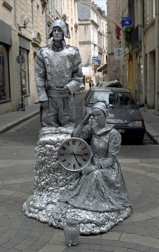 Napoleon Bonaparte and Josephine on a visit to Bordeaux France