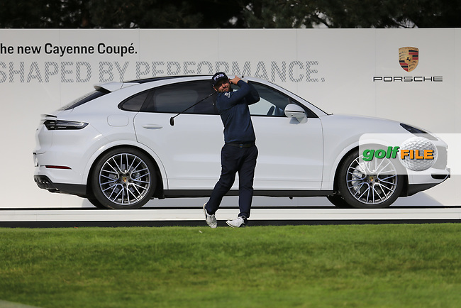 Andy Sullivan (ENG) on the 1st tee during the 1st round at the Porsche European Open, Green Eagles Golf Club, Luhdorf, Winsen, Germany. 05/09/2019.<br /> Picture Fran Caffrey / Golffile.ie<br /> <br /> All photo usage must carry mandatory copyright credit (© Golffile | Fran Caffrey)