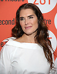 Brooke Shields attends the Off-Broadway Opening Night performance of 'Man From Nebraska' at the Second StageTheatre on February 15, 2017 in New York City.