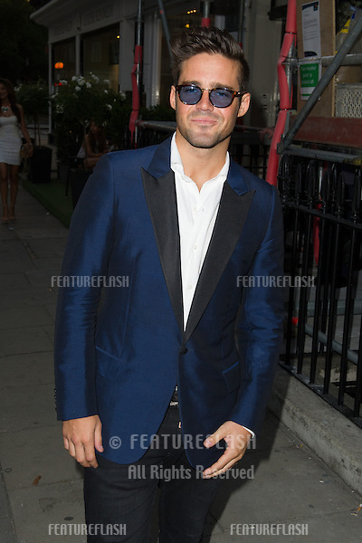 Spencer Matthews at the launch party for the Taylor Morris Eyewear Range, Chelsea, London. 05/09/2013 Picture by: Dave Norton / Featureflash