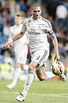Real Madrid's Pepe during La Liga match. April 29,2015. (ALTERPHOTOS/Acero)