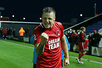 O's josh Coulson at FT during AFC Fylde vs Leyton Orient, Vanarama National League Football at Mill Farm on 3rd November 2018