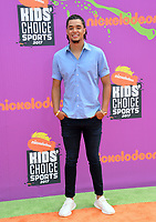 Chris Archer at Nickelodeon's Kids' Choice Sports 2017 at UCLA's Pauley Pavilion. Los Angeles, USA 13 July  2017<br /> Picture: Paul Smith/Featureflash/SilverHub 0208 004 5359 sales@silverhubmedia.com