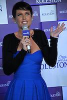 RIO DE JANEIRO,RJ 22 DE AGOSTO 2012 - XUXA TROCA COR DO CABELO.<br /> Nesta noite de quarta feira (22), a apresentadora Xuxa troca o vizial da cor do cabelo para uma marca de tintura. O evento foi em um hotel na Barra da Tijuca, zona oeste da cidade do Rio de Janeiro.<br /> FOTO RONALDO BRANDAO/BRAZIL PHOTO PRESS