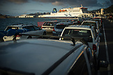 NEW ZEALAND, Wellington, Waiting to Board the Ferry to the South Island, Ben M Thomas