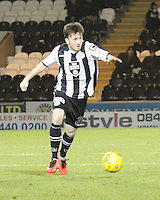 Calum Gallagher in the St Mirren v Falkirk Scottish Professional Football League Ladbrokes Championship match played at the Paisley 2021 Stadium, Paisley on 1.3.16.