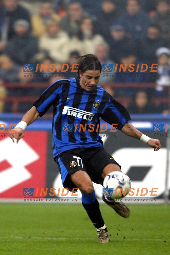 Milano 26/10/2003 <br /> Inter Roma 0-0 <br /> Francesco Coco (Inter)<br /> Foto Andrea Staccioli / Insidefoto