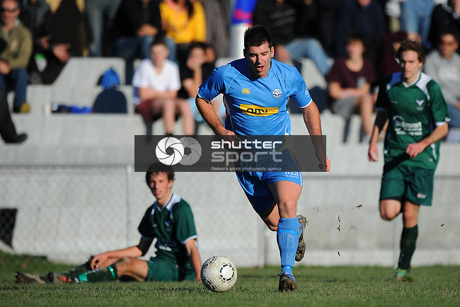 AMI Nelson Suburbs v Halswell UTD. Saxton Field, Nelson, New Zealand. Sunday 23 June 2013. Photo: Chris Symes/www.shuttersport.co.nz