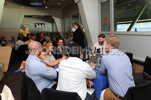 A general view of The Clash Hospitality. The Clash, Aviva Premiership match, between Bath Rugby and Leicester Tigers on April 8, 2017 at Twickenham Stadium in London, England. Photo by: Rob Munro / Onside Images