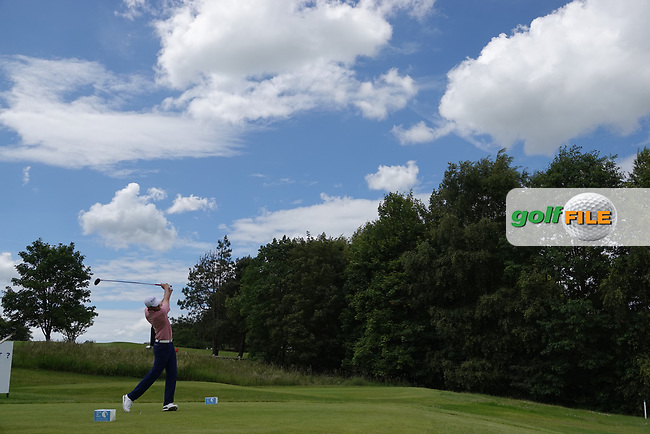 Chris Robb (SCO) in action during the third round of the Hauts de France-Pas de Calais Golf Open, Aa Saint-Omer GC, Saint- Omer, France. 15/06/2019<br /> Picture: Golffile | Phil Inglis<br /> <br /> <br /> All photo usage must carry mandatory copyright credit (© Golffile | Phil Inglis)