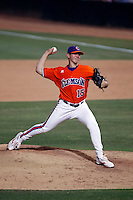 Graham Stoneburner of the Clemson Tigers playing against the Arizona State Sun Devils in the NCAA Super Regional Tournament won by ASU at Packard Stadium, Tempe, AZ - 06/06/2009.Photo by:  Bill Mitchell/Four Seam Images