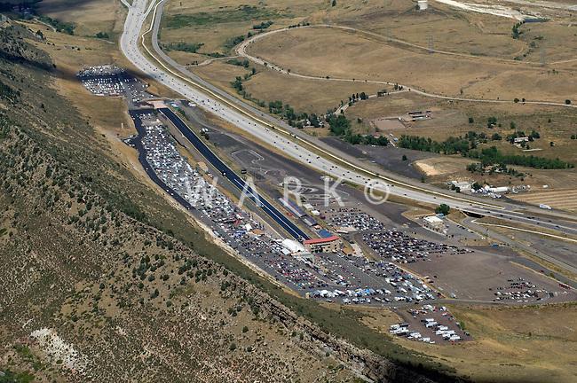 Bandimere Speedway aerial
