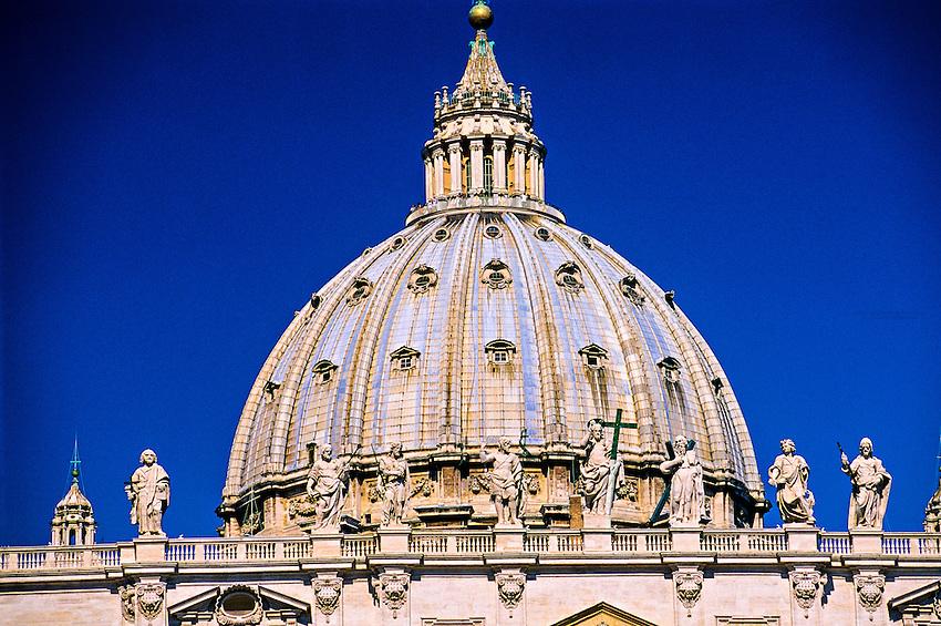 St. Peter's (Basilica di San Pietro), Vatican, Rome, Italy